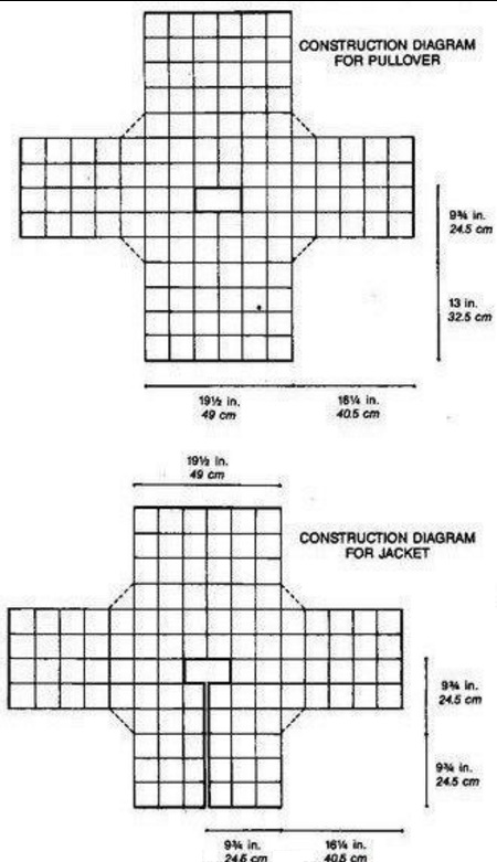Ажурные квадратные мотивы крючком