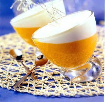 Десерт абрикосовый