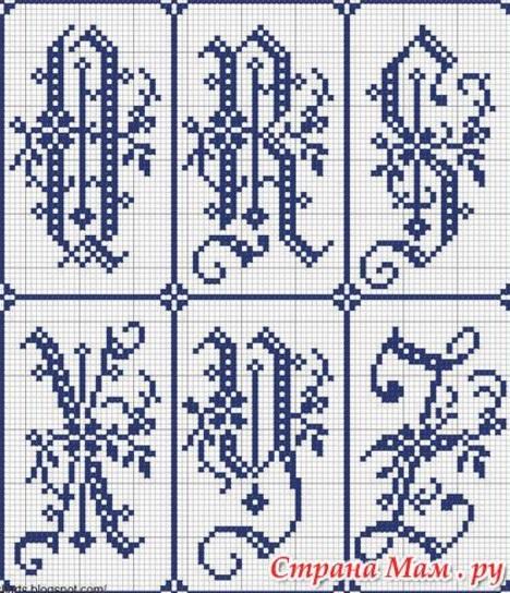 Схемы алфавита