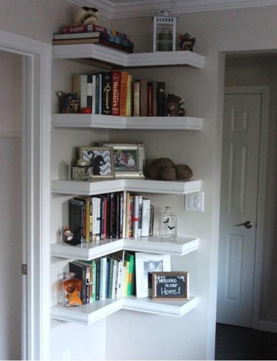 Дизайн книжных полок