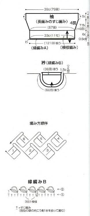 Как связать кофту крючком