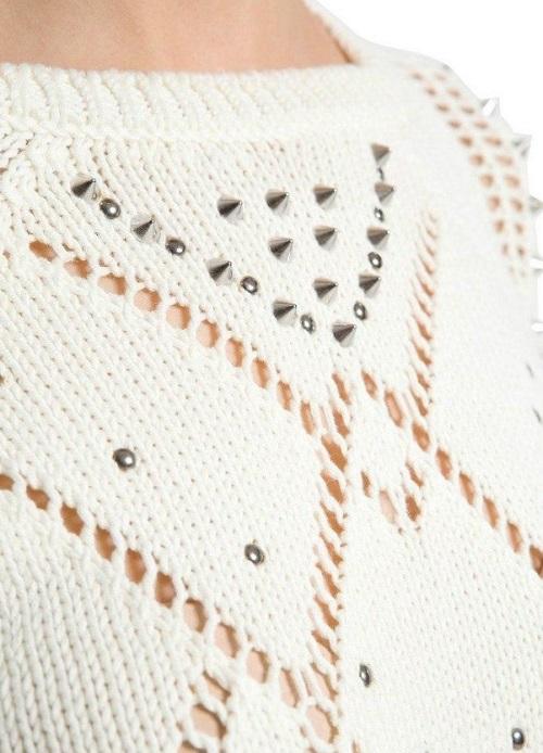 Вязание красивого пуловера спицами