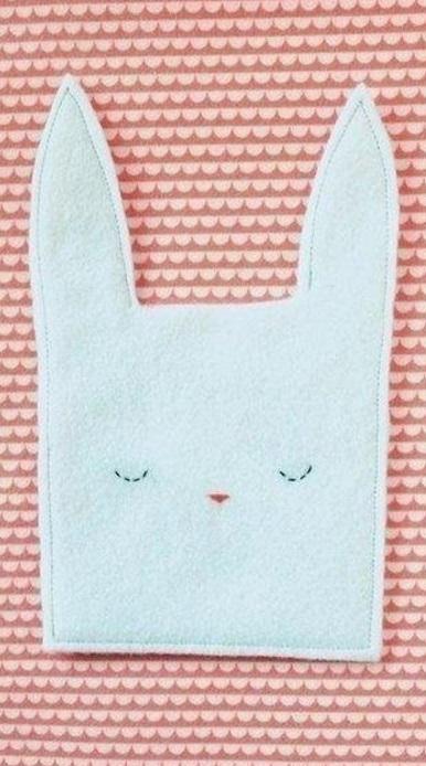 Мешок для подарка к Пасхе