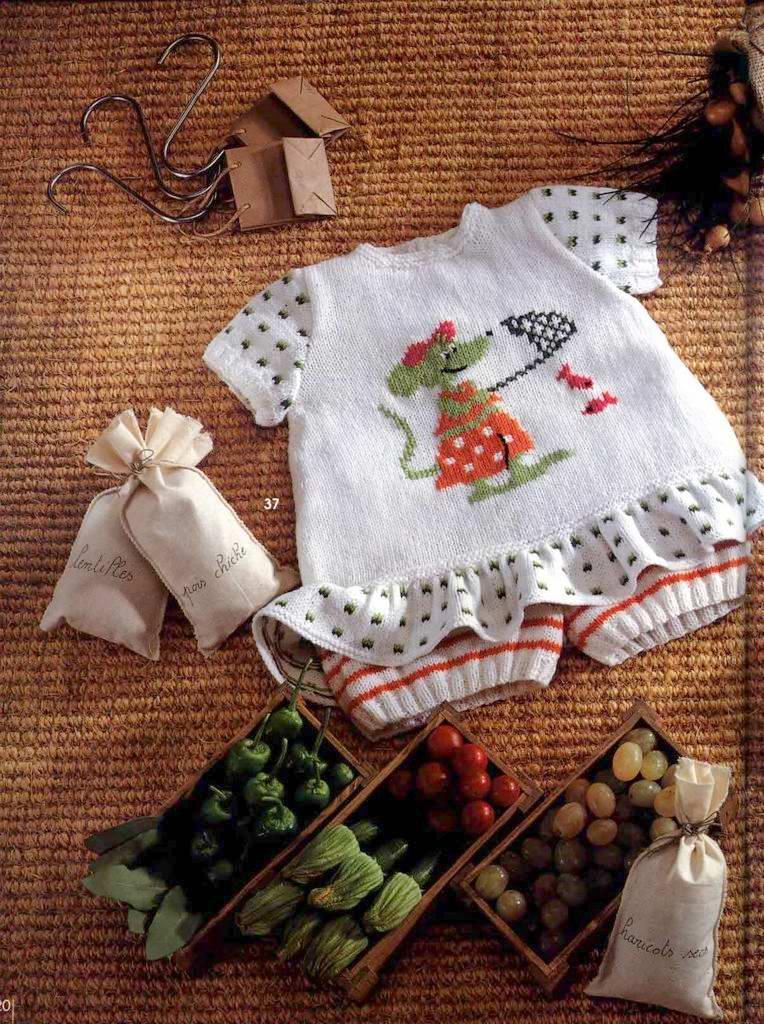 Костюмчик для маленькой модницыВязание для детей