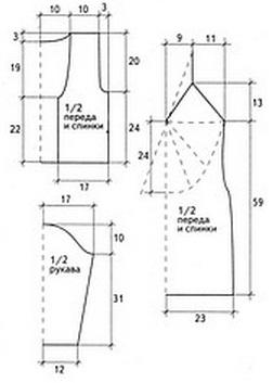 Платье и болеро крючком