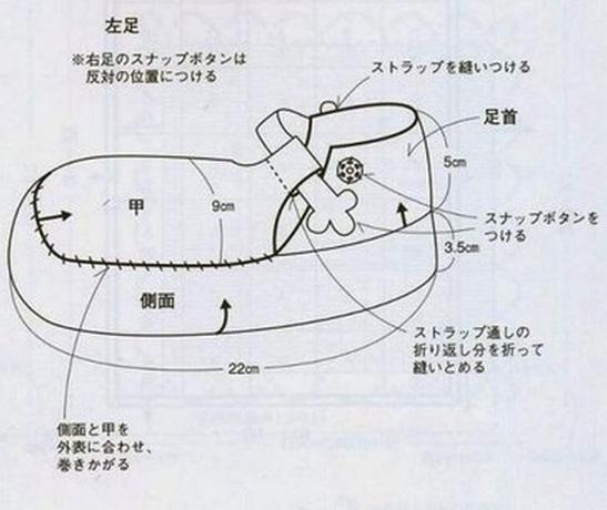 Вязание тапочек крючком
