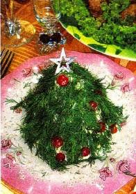 """Салат """"Новогодняя елочка 2017"""""""