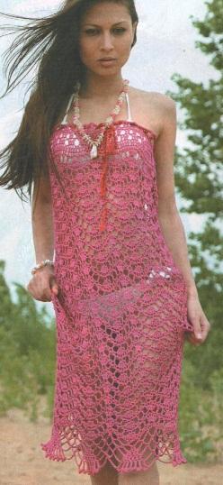 Ажурная юбка - платье
