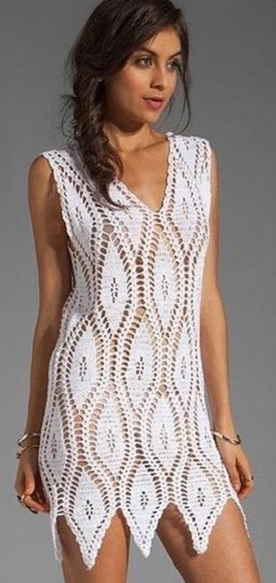 Узор для летнего платья