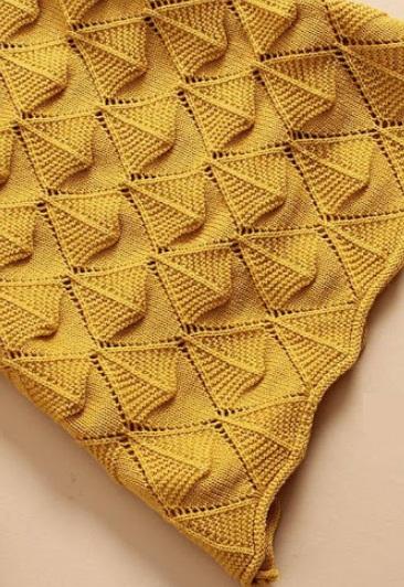 Вязание узора спицами