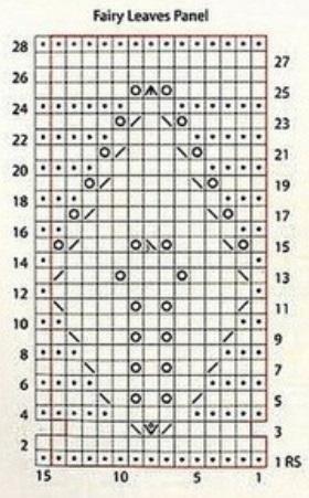 Узор Сказочный лист