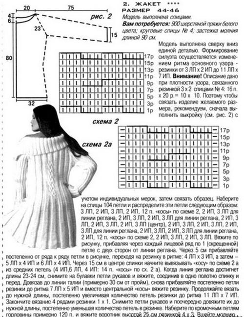 Вязание жакет