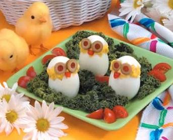 Цыплята к Пасхе