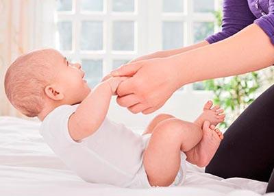 Упражнения для четырехмесячного малыша