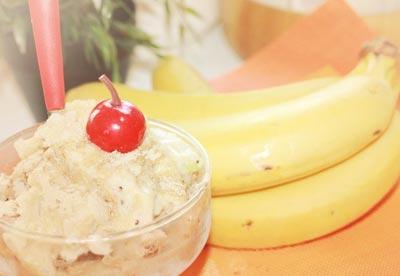 Домашнее мороженое из банана