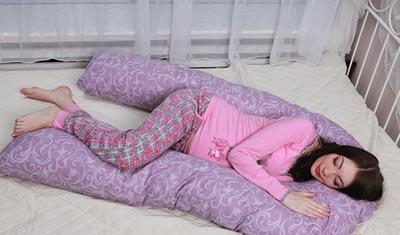 U-образная подушка для беременных