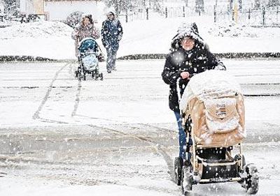 Прогулки с коляской в 5 месяцев