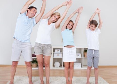Утренняя зарядка с детьми