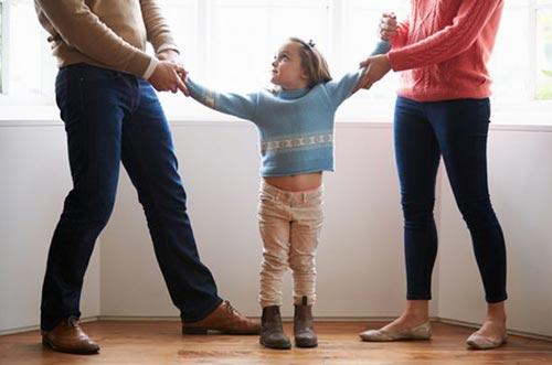 Конфликты родителей при детях