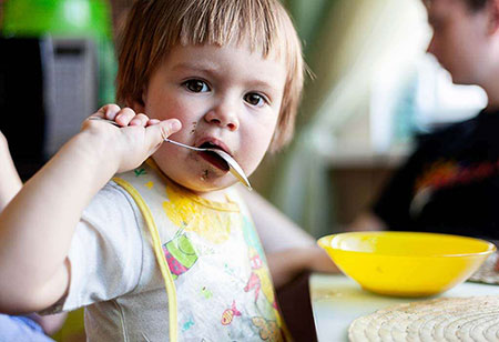 Питание ребенка в 21 месяц