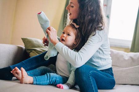 Бытовые навыки годовалого ребёнка